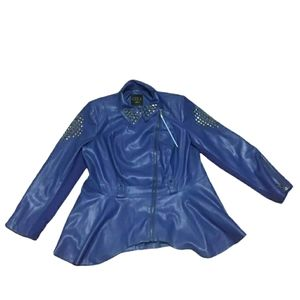 G.I.L.I. Got To Love It Leather Jacket Womens